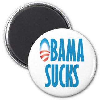 Obama Sucks 6 Cm Round Magnet