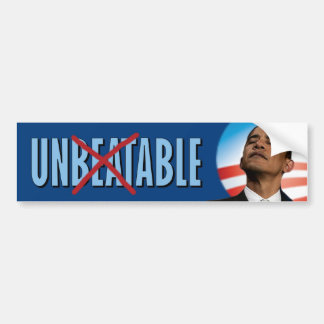 Obama - Unable Car Bumper Sticker