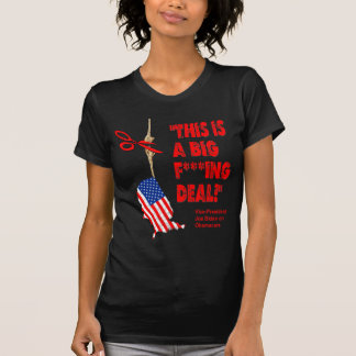 Obamacare Big Deal Hanging By A Thread T-Shirt
