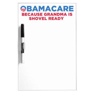 Obamacare Dry Erase Board