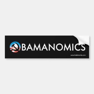Obamanomics Hope Hammer Sticker