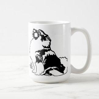Obedience Keeshond Coffee Mug