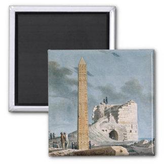 Obelisk of Cleopatra (w/c on paper) Magnet