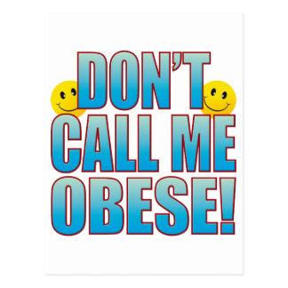 Obese Call Life B Postcard