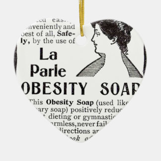 Obesity Soap Christmas Ornament
