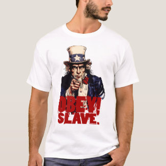 Obey! Save. Dirty Uncle Sam T-Shirt