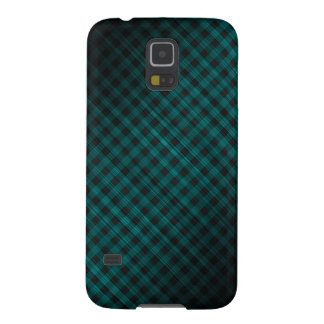 oblique checkered dark turquoise pattern cases for galaxy s5