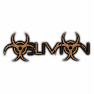 Oblivion Key Chain Photo Sculpture Key Ring