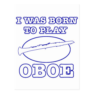 Oboe Designse Postcard