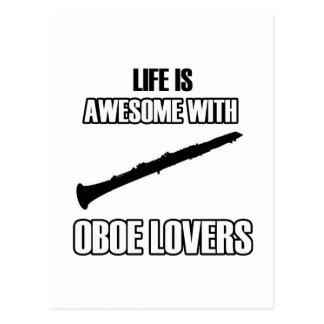 oboe oboe postcard