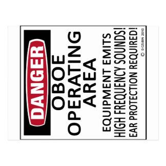 Oboe Operating Area Postcard