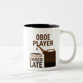 Oboe Player (Funny) Chocolate Two-Tone Coffee Mug