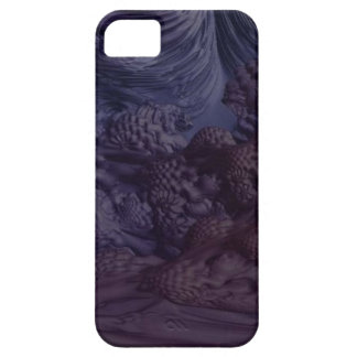 Obscure Eggplant Barely There iPhone 5 Case
