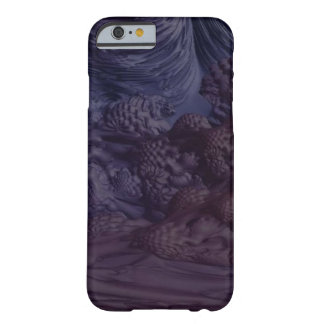 Obscure Eggplant Barely There iPhone 6 Case