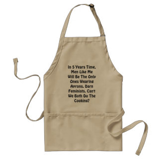 Obsessed Feminists Apron
