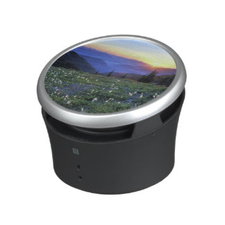 Obstruciton Point Sunset, Olympic NP, WA, USA Bluetooth Speaker