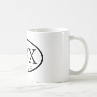 OBX Outer Banks Oval Coffee Mug