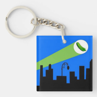 OC Pickle Signal Keychain #1