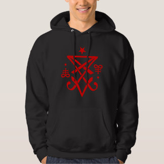 Occult Sigil of Lucifer Satanic Hoodie