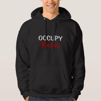 occupy boston hoodie