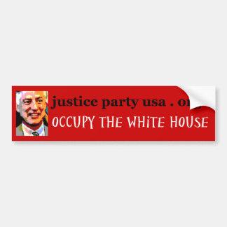 Occupy the White House Bumper Sticker