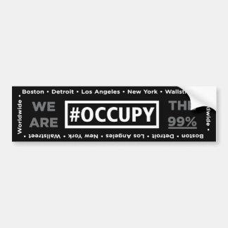 Occupy Wall Street and Worldwide Bumper Sticker
