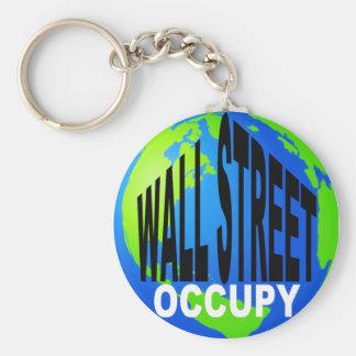 Occupy Wall Street Global Key Ring