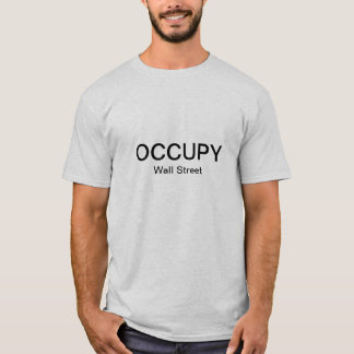 Occupy Wall Street (Simple) T-Shirt