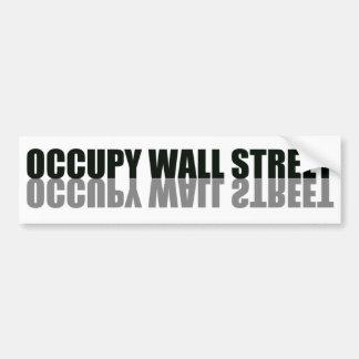 Occupy Wall Street Trendy Logo Bumper Sticker