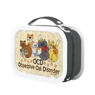 OCD Obsessive Cat Disorder Yubo Lunchbox