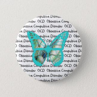 OCD Obsessive Compulsive Disorder Awareness 6 Cm Round Badge