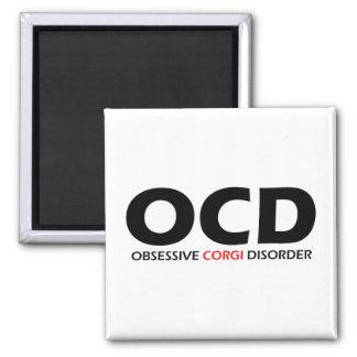 OCD - Obsessive Corgi Disorder Fridge Magnets