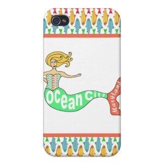 Ocean City, Maryland Mermaid iPhone 4/4S Case