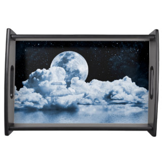 Ocean Dream Space Serving Tray