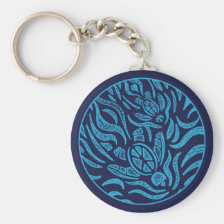 Ocean Family Sea Turtles Keychain