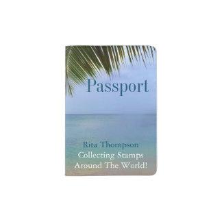 Ocean Palm | Passport Holder