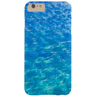 Ocean Reflections Watercolor Barely There iPhone 6 Plus Case