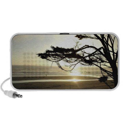 Ocean Sunset Notebook Speakers