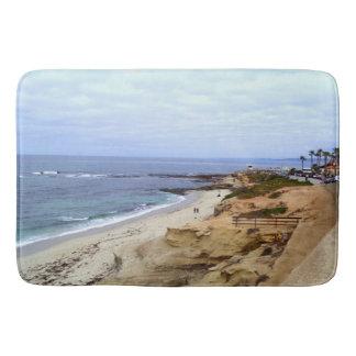 Ocean view bath mats