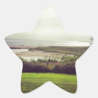 Ocean View Star Sticker