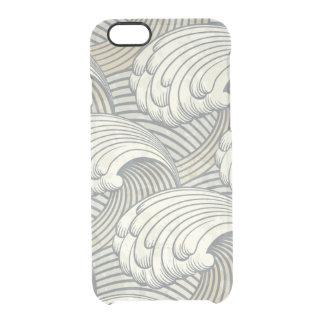Ocean Waves Pattern Ancient Japan Art