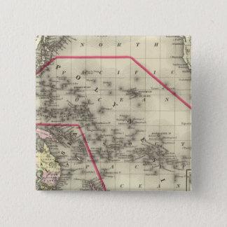 Oceanica, Sandwich Islands 2 15 Cm Square Badge
