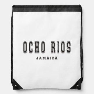 Ocho Rios Jamaica Drawstring Bag