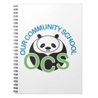 OCS Logo Spiral Notebook