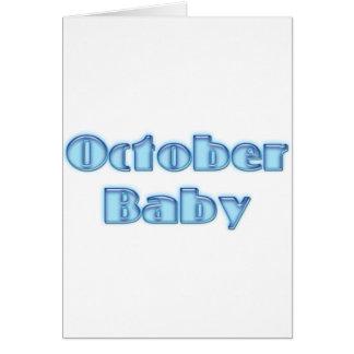 OctBaby Card