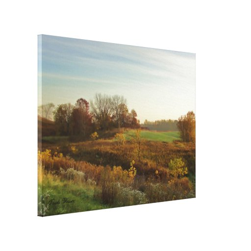 October Morning 2 Stretched Canvas Prints