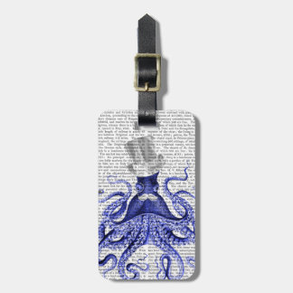 Octopus About Town Luggage Tag