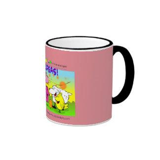 """Oddbird Arts """"Chickpeas!"""" Mug"""