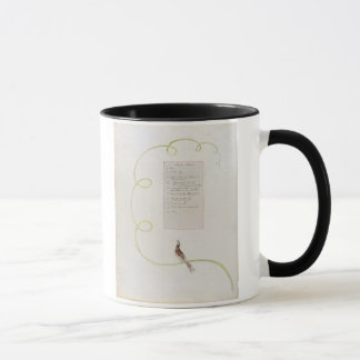 'Ode for Music' design 94 from 'The Poems of Thoma Mug