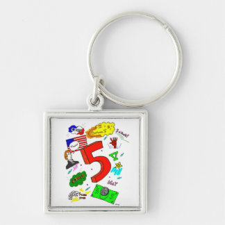 Ode to Five Keychain